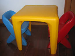 Kid's Table and Two Chairs