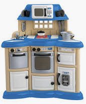 Kitchen with Play Set